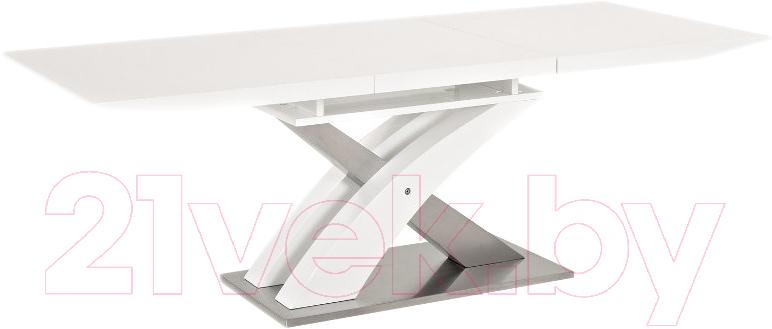 Купить Обеденный стол Signal, Raul (белый лак), Польша
