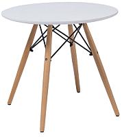 Обеденный стол Signal Soho (белый/бук) -