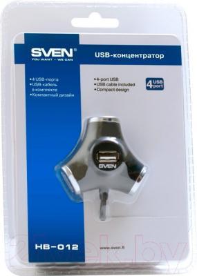 USB-хаб Sven HB-012 (черный)