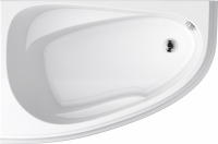 Ванна акриловая Cersanit Joanna New 140x90 L (с ножками) -