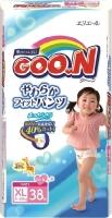 Подгузники-трусики Goo.N XL Girl 12-20кг (38шт) -