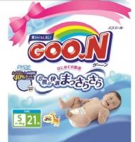 Подгузники Goo.N Minipack S (21шт) -