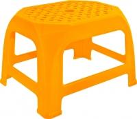 Табурет пластиковый Алеана Кроха (светло-оранжевый) -