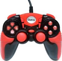 Геймпад Dialog Action GP-A15 (черный/красный) -