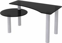 Журнальный столик Artglass Парус (серый) -
