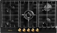 Газовая варочная панель Kuppersberg FV9TGRZ ANT Bronze -