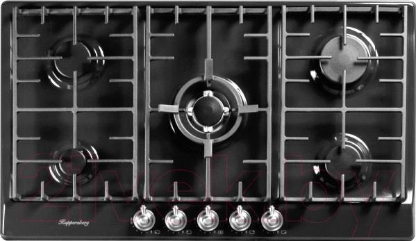 Купить Газовая варочная панель Kuppersberg, FV9TGRZ ANT Silver, Испания