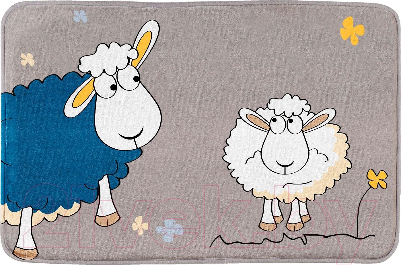 Купить Коврик для ванной Tatkraft, Funny Sheep Ultra Soft 18341, Китай, полиэстер