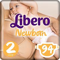 Подгузники Libero Newborn 2 (94шт) -