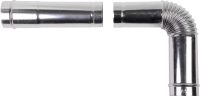 Дымоход для котла Daewoo DGB-80E-EXT-L1000 1м (80) -
