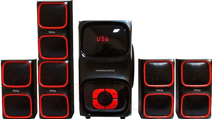 Купить Мультимедиа акустика Dialog, Progressive AP-555 (черный), Китай