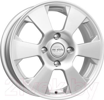 Литой диск K&K, KC718 (ZV Cobalt) 15x6 4x100мм DIA 56.6мм ET 39мм 66492 (Сильвер), Россия  - купить со скидкой