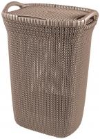 Корзина для белья Curver Knit 03676-X59-00 (коричневый) -