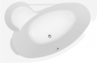 Ванна акриловая Cersanit Kaliope 170x110 L / S301-114 -