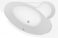 Ванна акриловая Cersanit Kaliope 170x110 R / S301-115 -