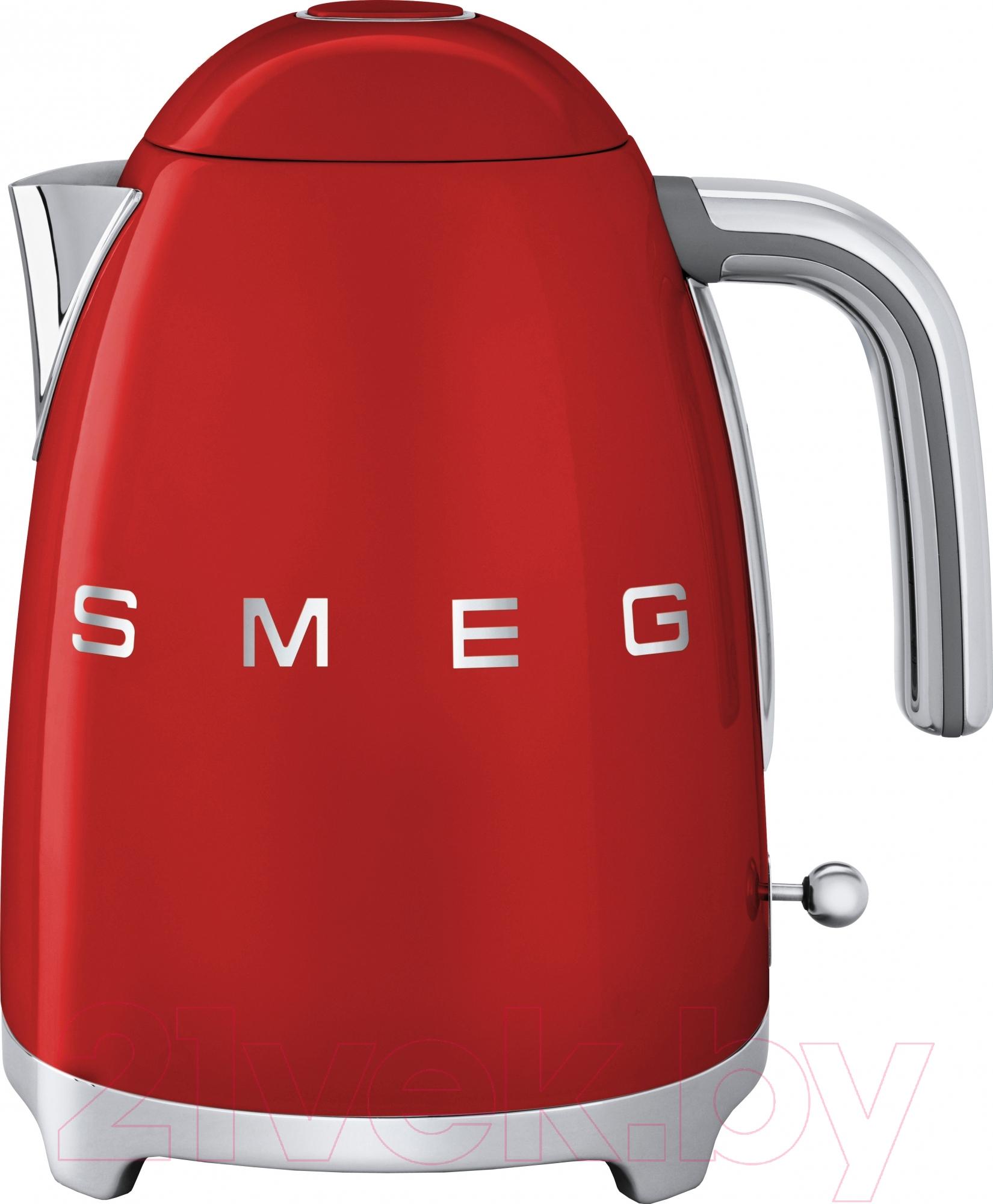 Купить Электрочайник Smeg, KLF01RDEU, Китай, красный