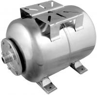 Гидроаккумулятор Unipump Горизонтальный 24л (нержавеющая сталь) -