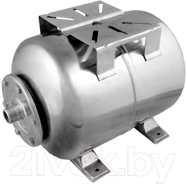 Купить Гидроаккумулятор Unipump, Горизонтальный 80л (нержавеющая сталь), Китай