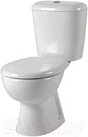 Унитаз напольный Керамин Гранд-С Алкапласт Premium (с жестким сиденьем) -