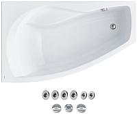 Ванна акриловая Santek Майорка XL 160x95 L Базовая (1WH112346) -