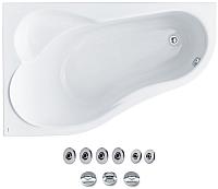 Ванна акриловая Santek Ибица 150x100 L Базовая (1WH112350) -