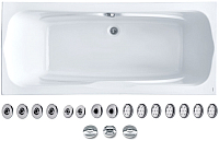 Ванна акриловая Santek Корсика 180x80 Базовая Плюс (1WH112356) -