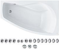 Ванна акриловая Santek Майорка XL 160x95 R Базовая Плюс (1WH112367) -