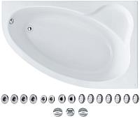 Ванна акриловая Santek Эдера 170x110 R Базовая Плюс (1WH112375) -