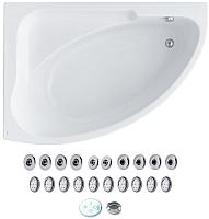 Ванна акриловая Santek Гоа 150x100 L Комфорт (1WH112388) -