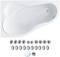 Ванна акриловая Santek Ибица 150x100 L Комфорт (1WH112390) -