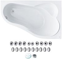 Ванна акриловая Santek Ибица 150x100 R Комфорт (1WH112391) -