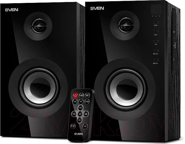 Купить Мультимедиа акустика Sven, SPS-615 (черный), Китай