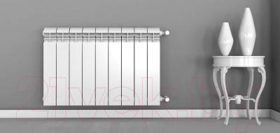 Радиатор алюминиевый Rifar Alum 500 (8 секций)