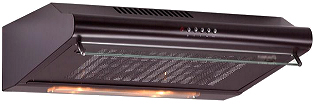 Вытяжка плоская Exiteq Standard 601 (коричневый) - общий вид