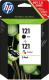 Комплект картриджей HP 121 (CN637HE) -