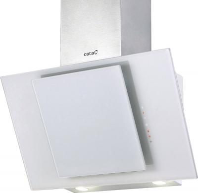 Вытяжка декоративная Cata Ceres 60 (белое стекло) - общий вид