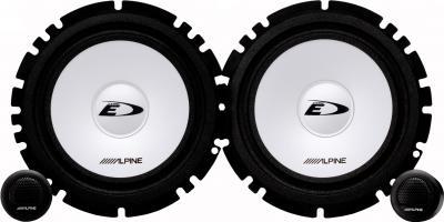 Компонентная АС Alpine SXE-1750S - общий вид