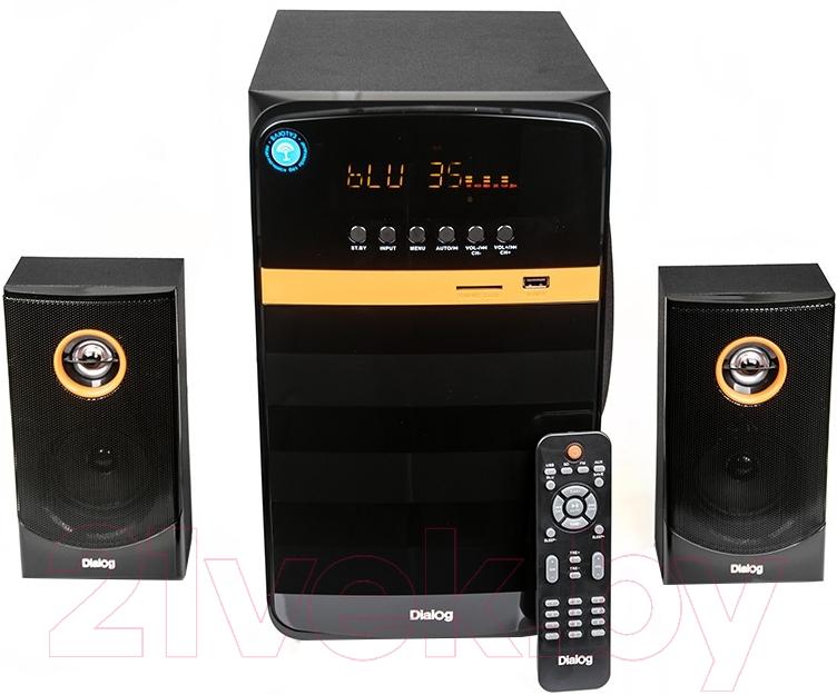 Купить Мультимедиа акустика Dialog, AP-240B (черный), Китай