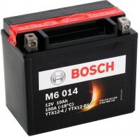 Мотоаккумулятор Bosch M6 YTX12-4/YTX12-BS 510012009 / 0092M60140 (10 А/ч) -