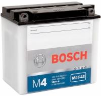 Мотоаккумулятор Bosch M4 YB16L-B 519011019 / 0092M4F430 (19 А/ч) -