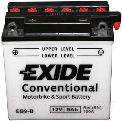 Мотоаккумулятор Exide EB9-B (9 А/ч)