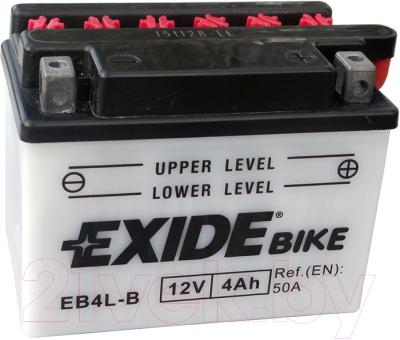 Мотоаккумулятор Exide EB4L-B (4 А/ч)