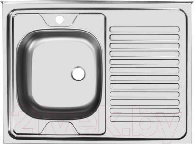 Мойка кухонная Ukinox Стандарт STD800.600 4C 0L
