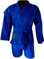 Кимоно для самбо No Brand 3131 150 (синий) -