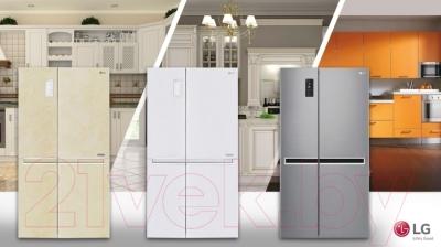 Холодильник с морозильником LG GC-B247SEUV