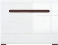 Комод Black Red White Azteca S205-KOM4S/8/11 (белый/белый блеск) -