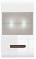 Шкаф навесной Black Red White Azteca S205-SFW1W/10/6 (белый/белый блеск) -
