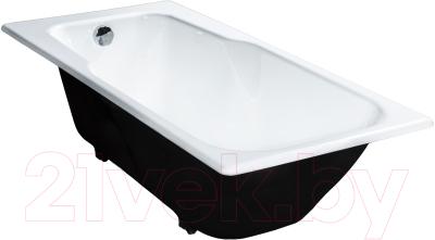Ванна чугунная Универсал Нега-Б 150x70 (2 сорт, с ножками, без ручек)