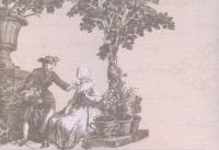 Декоративная плитка Керамин Пастораль 3/3 (400x275) -