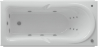 Ванна акриловая Aquatek Леда 170x80 L (с гидромассажем и экраном) -